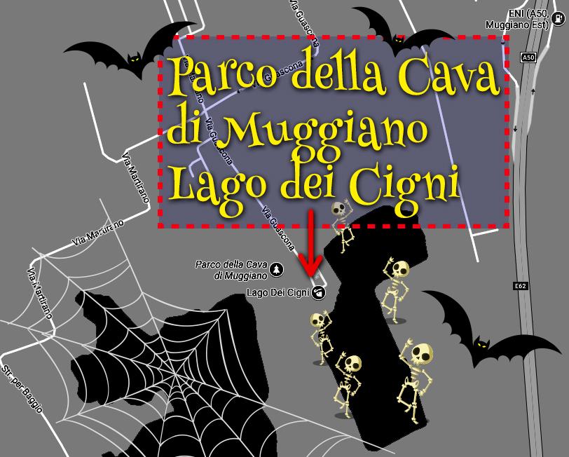 mappa Oasi Lago Dei Cigni
