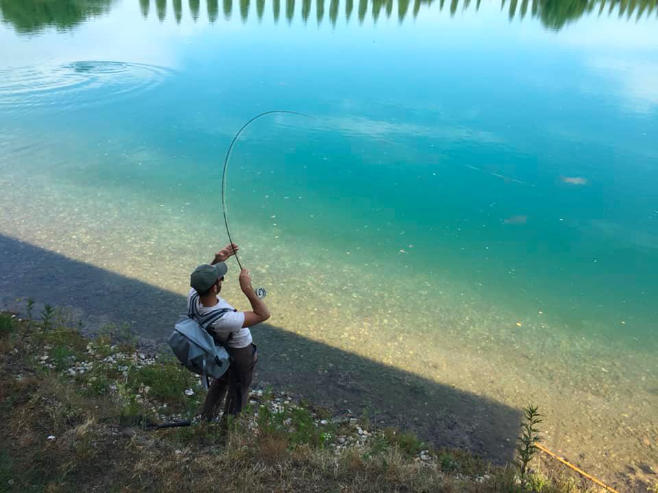 pesca sportiva oasi lago dei cigni